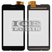 Сенсорный экран для мобильного телефона Nokia 530 Lumia, черный, #CHIPONE ICN8512F.H/5562H-FPC-4