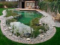 Строительство плавательных прудов. Фонтаны.