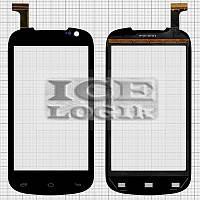 Сенсорный экран для мобильного телефона Gigabyte GSmart Tuku T2, черный, #FP-370-047-09-B/LH-LZ-Q203