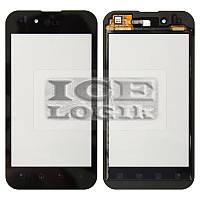 Сенсорный экран для мобильного телефона LG P970 Optimus Black, черный
