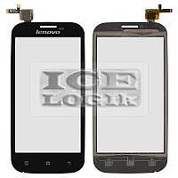 Сенсорный экран для мобильного телефона Lenovo A760, черный