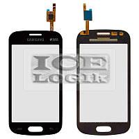 Сенсорный экран для мобильного телефона Samsung S7390, черный