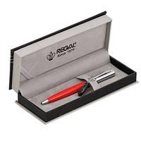 Шариковая ручка в подарочном футляре Р, красный