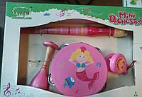 Деревянная игрушка Мини-оркестр Woodyland