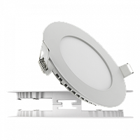 Светодиодный led светильник (врезной) круг 6вт. 120х20мм. 3000/4000-4500К