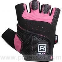 Перчатки для фитнеса  женские RDX Pink-L