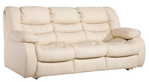 Прямой раскладной кожаный диван REGAN (216см)