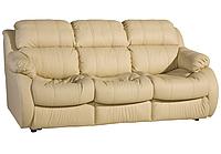 Прямой раскладной кожаный диван REGLAINER (205см)