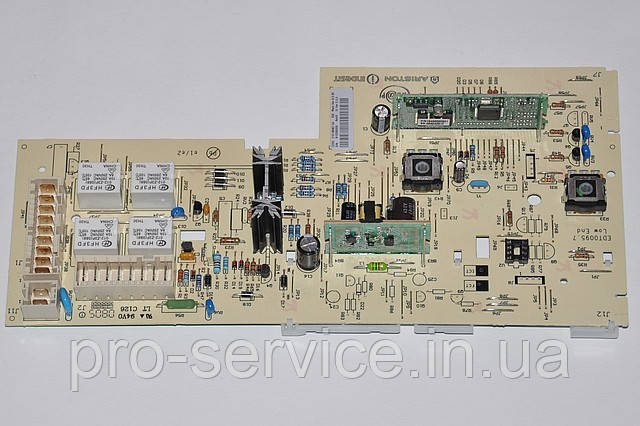 Модуль управління Low End (з вирізом) код C00143067 для пральних машин Indesit WIA, WIU, WIUL)
