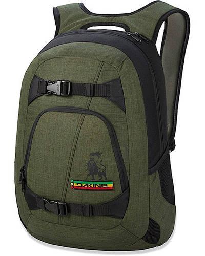Отличный мужской рюкзак для города Dakine Explorer 26L kingston 610934778571 оливковый