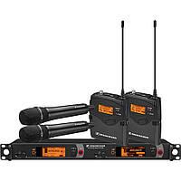 Беспроводная микрофонная система Sennheiser 2000 Series Dual Combo B / 626 - 698MHz (2000C2-945BK-B)