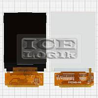 Дисплей для мобильного телефона Fly Q115, 36 pin, #FPC248-A0