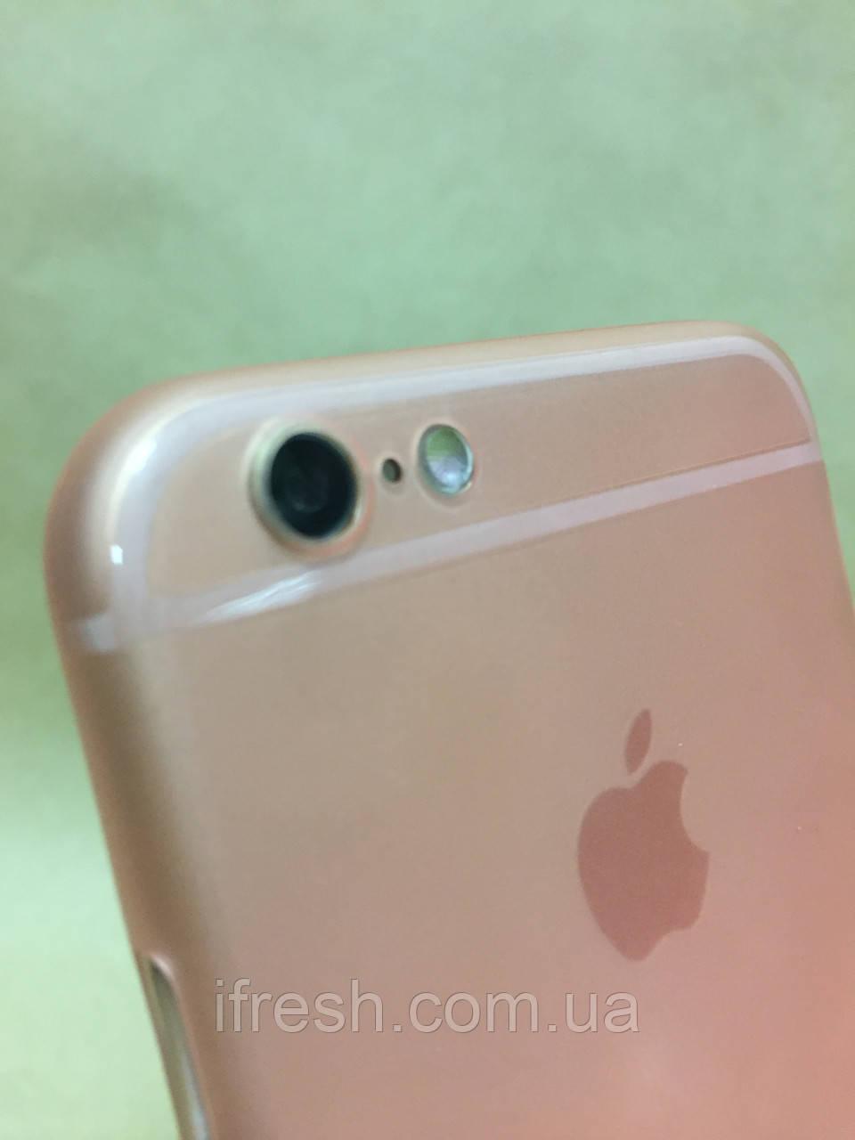 Ультратонкий чехол Saiskai для iPhone 6/6s, розовый