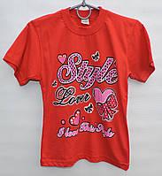 Футболка для девочки 9-11 лет Style Lover красная