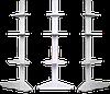 Стеллаж металлический угловой внешний 2350