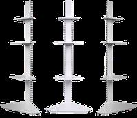 Стеллаж металлический угловой внешний 1900