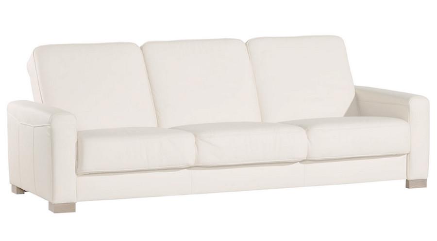прямой раскладной кожаный диван Vegas 220см в категории диваны