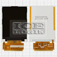 Дисплей для мобильного телефона Fly DS165, 36 pin, original, #YS165E2100/FPC2003639/BL20027-XYXW107-