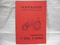 Каталог Т-25Ф, Т-25ФМ