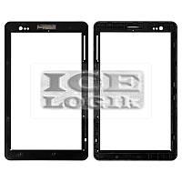 Рамка сенсорного экрана для планшета Fly Flylife Connect 7 3G, черная, original, #151M0385