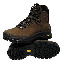 Трекинговые ботинки Grisport trekking Vibram коричневые