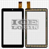"""Сенсорный экран для планшетов China-Tablet PC 7""""; GoClever Quantum 700, 7"""", 30 pin, емкостный, черны"""