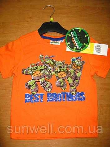 Дитяча футболка для хлопчика Черепашки ніндзя 3 років, Ninja Turtles, фото 2