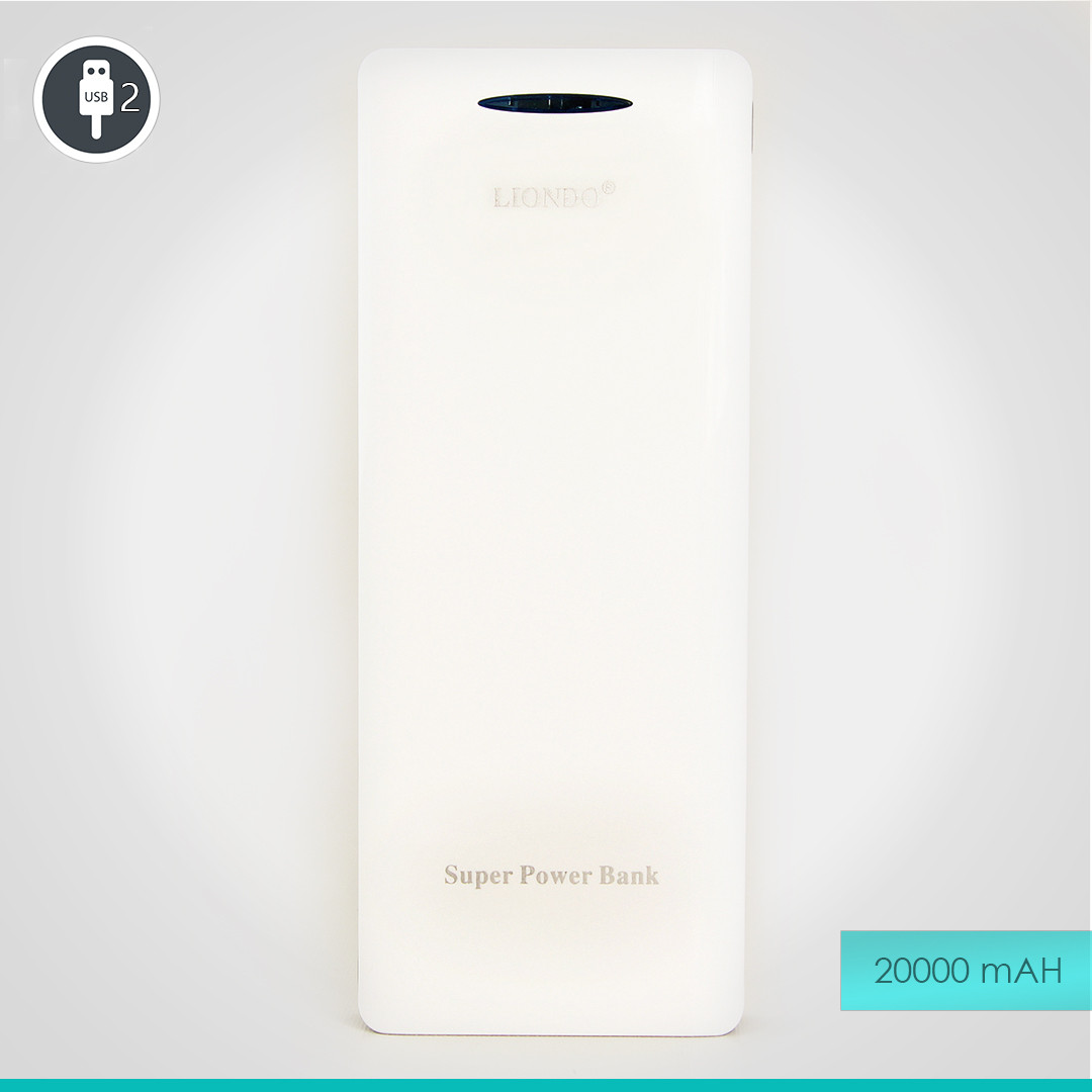 УМБ Liondo LD-328 Power Bank 20000 mAh