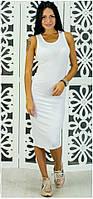 Платье-майка Борцовка р.S-M белый