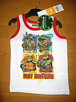 Детская летняя майка для мальчика Черепашки ниндзя 3, 4 года, Ninja Turtles