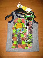Детская летняя майка для мальчика Черепашки ниндзя 3-8лет, Ninja Turtles