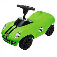Машинка каталка BIG Baby Porsche зеленая 56345