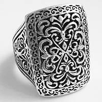 Кольцо перстень с рисунком гравировкой. Размеры 17, 18, 19, 20.