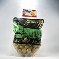 Бойлы Grandcarp Attract прикормочные раствор. Кукуруза Чили 20 мм  1 кг
