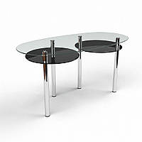 Стол стеклянный Лукас (БЦ-стол ТМ)