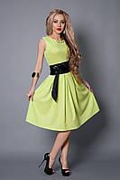Платье  мод 386-7 размер 42.44 салатовое