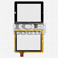 """Сенсорный экран для планшетов China-Tablet PC 9,7""""; Onda VI40; Ritmix RMD-1035, черный, емкостный, 5"""