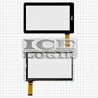 """Сенсорный экран для планшетов China-Tablet PC 7""""; Ritmix RBK-495; DNS AirBook TVD704, черный, емкост"""