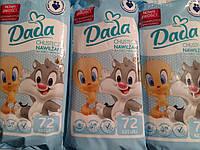 Детские влажные салфетки Dada sensetive, 72 шт