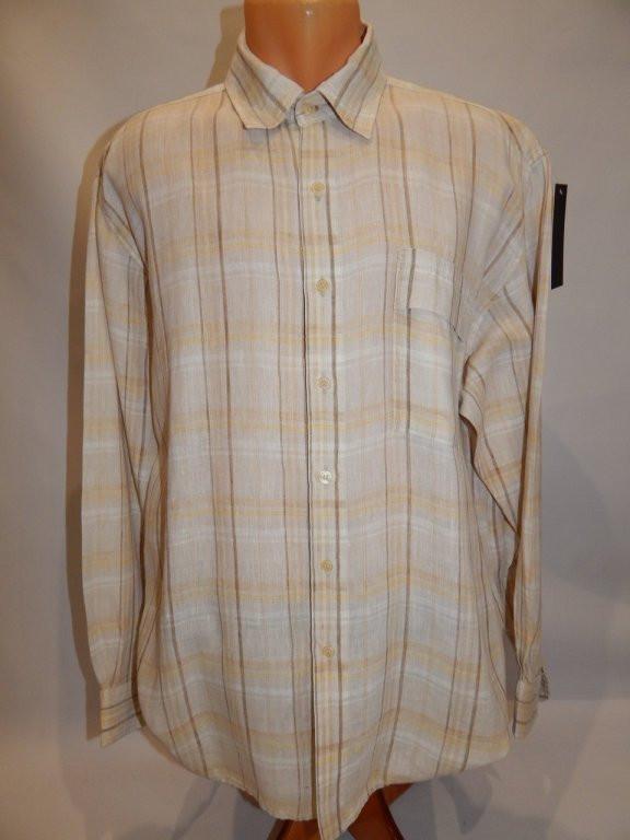 Мужская рубашка с длинным рукавом 047ДР  Leinen Departme