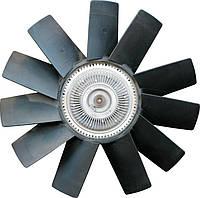 Вентилятор с муфтой Cummins ISF 2.8 020005181  #запчасти#Cummins