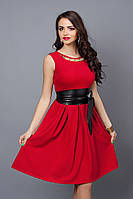 Платье  мод 386-1 размер 42,46 красное