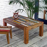 Журнальный стол из массива дерева 003