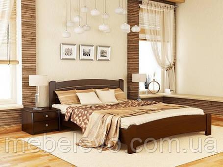Кровать полуторная Венеция Люкс 140 820х1460х1980мм   Эстелла, фото 2