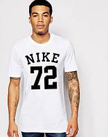 Футболка біла Найк Nike трикотаж