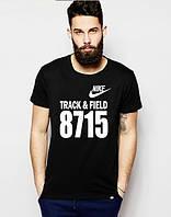 Мужская Футболка с надписью  Nike хлопок