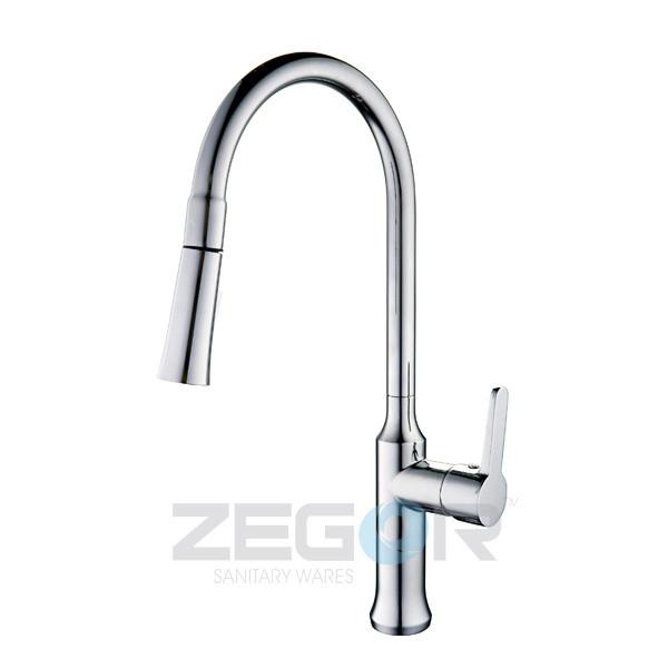 Смеситель для кухни Zegor Z47-GUF4-A110