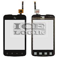 Сенсорный экран для мобильного телефона Fly IQ238, черный, original, #622Z83902350