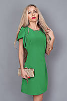 Платье мод. 239-10,размер 44,46,48 зеленое