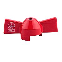 Ручка для шарового крана SD Sandi Plus бабочка красная